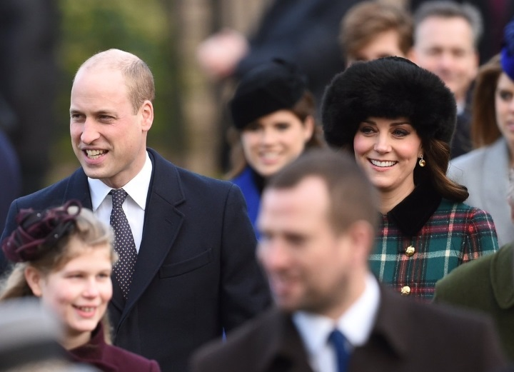 Royal Family attends Christmas Church Service in Sandringham