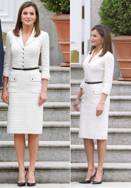 King Felipe and Queen Letizia welcomed the Colombian President and First Lady at Royal Palace in Spain