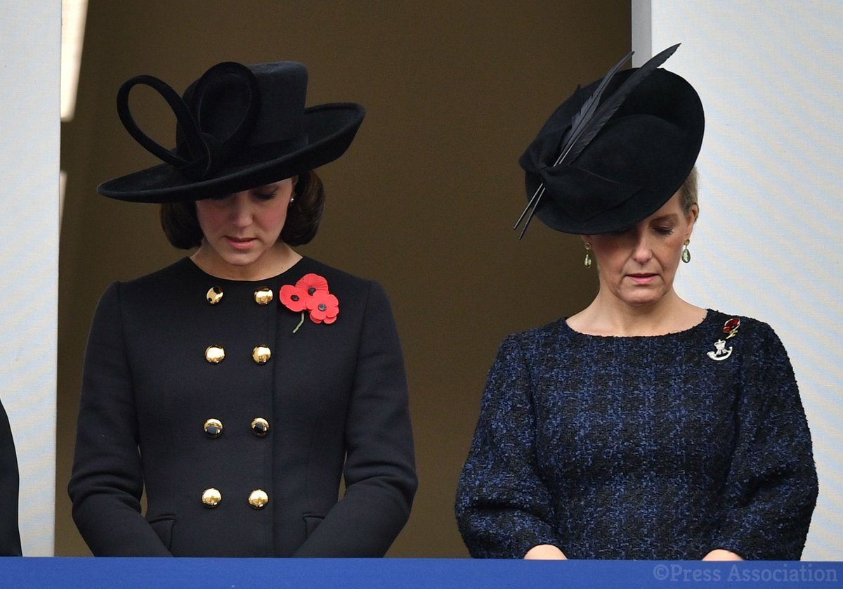 The Royal Family led the country for National Service of Remembrance Day