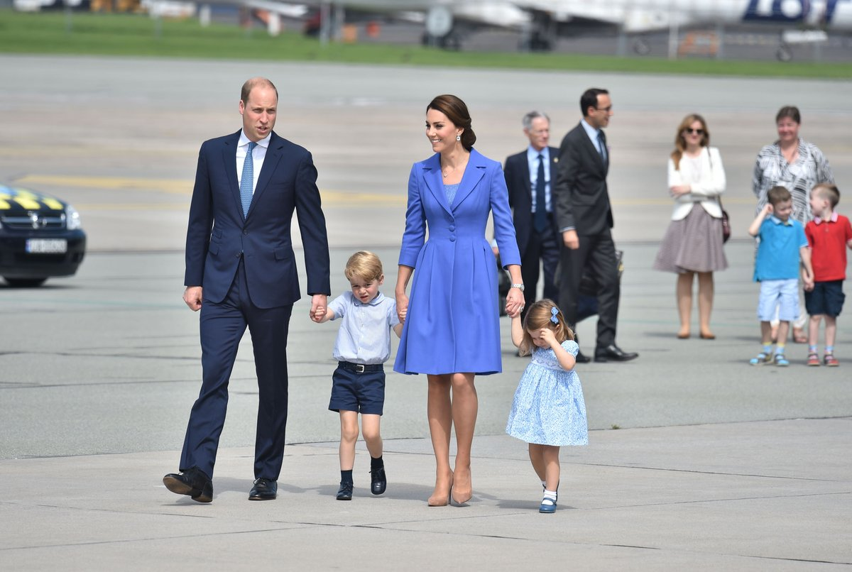 Duke and Duchess started Royal Tour Germany