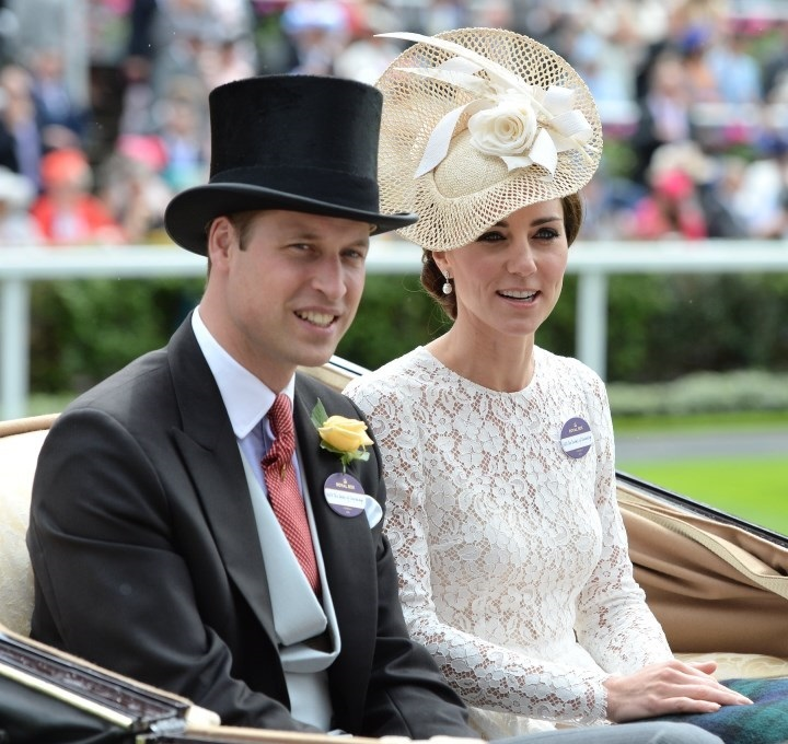 The Duke and Duchess of Cambridge at ASCOT 2016