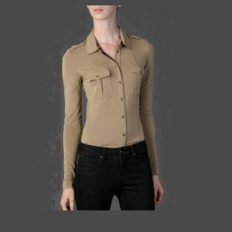 Burberry Military Pocket Jersey Shirt