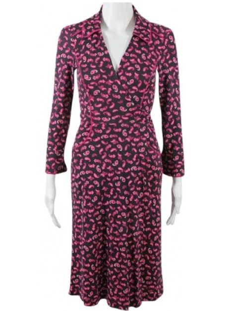 DVF Duenne Paisley Dress
