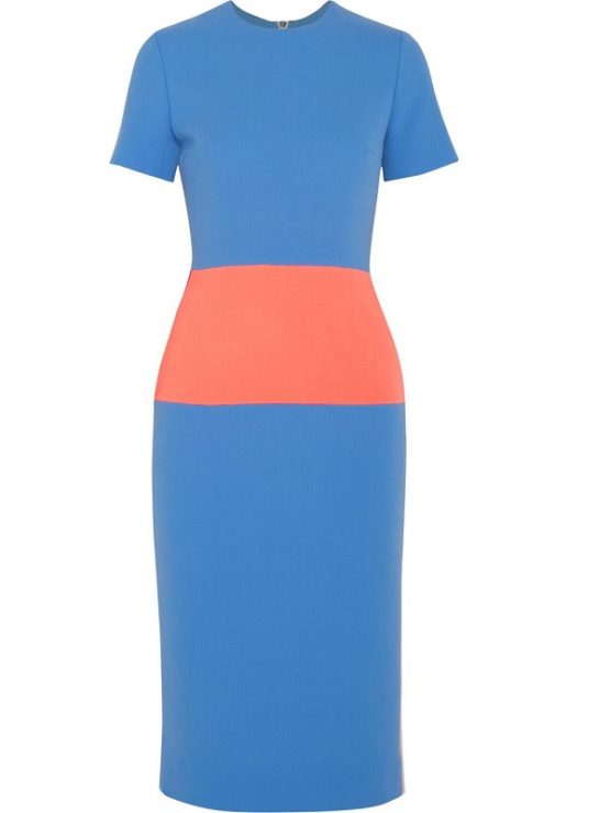 Roksanda Marwood Color-block Dress