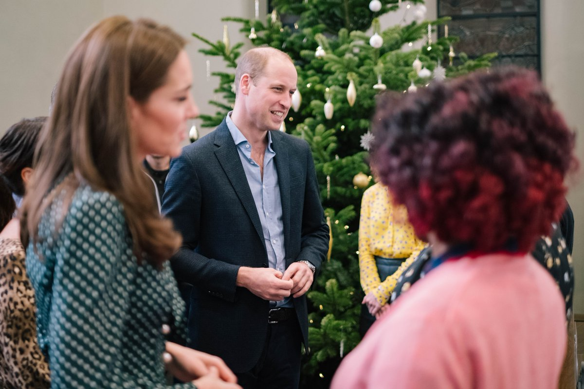 The Duke and Duchess of Cambridge visited Evelina London in December 2018