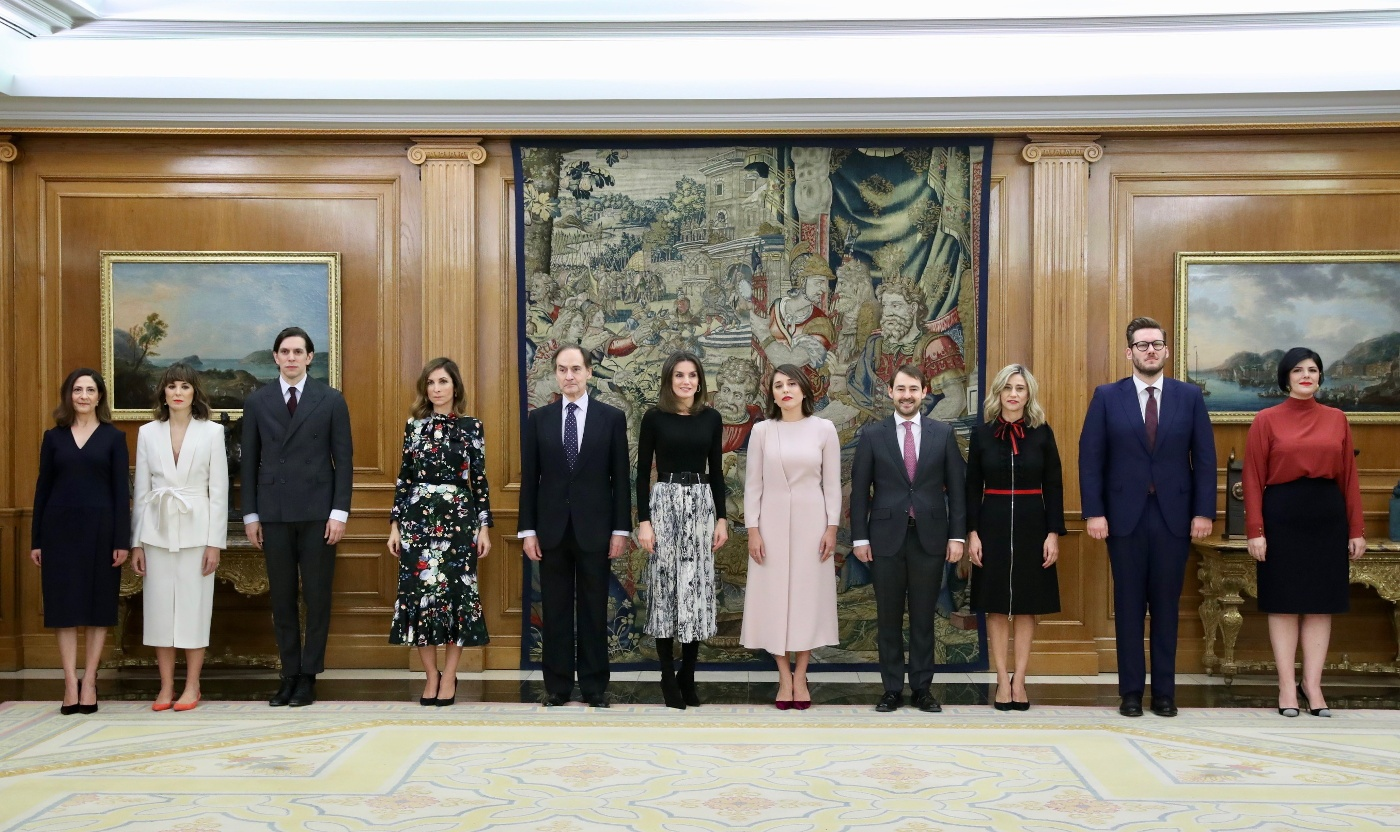 Queen Letizia of Spain was Epitome of Elegance at the Palace Audience
