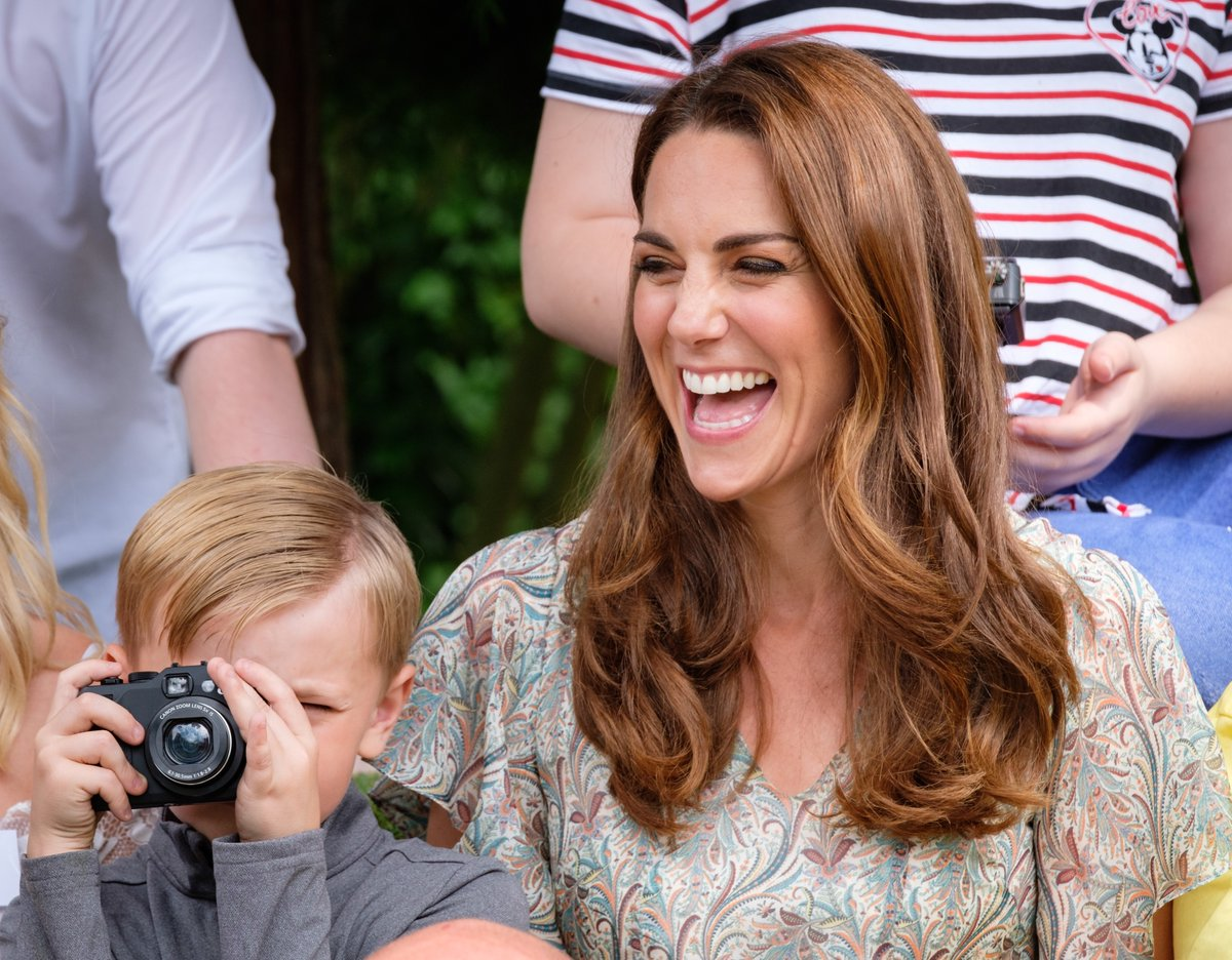 The Duchess of Cambridge became the royal patron of the Royal Photographic Society