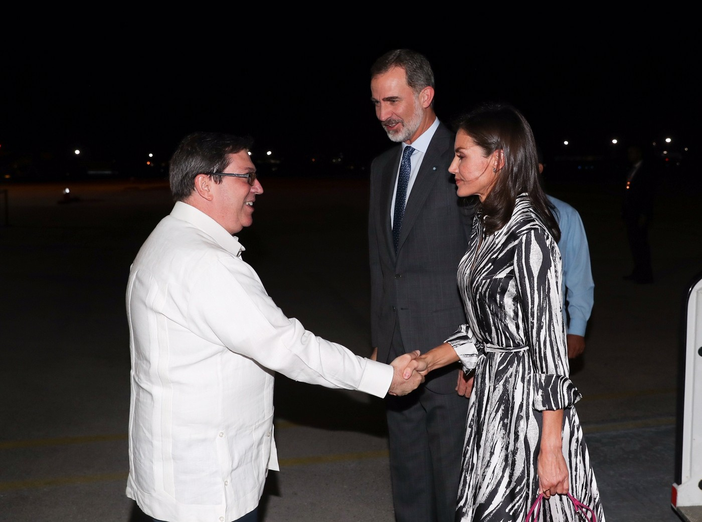 King Felipe and Queen Letizia of Spain arrived in Cuba for state visit