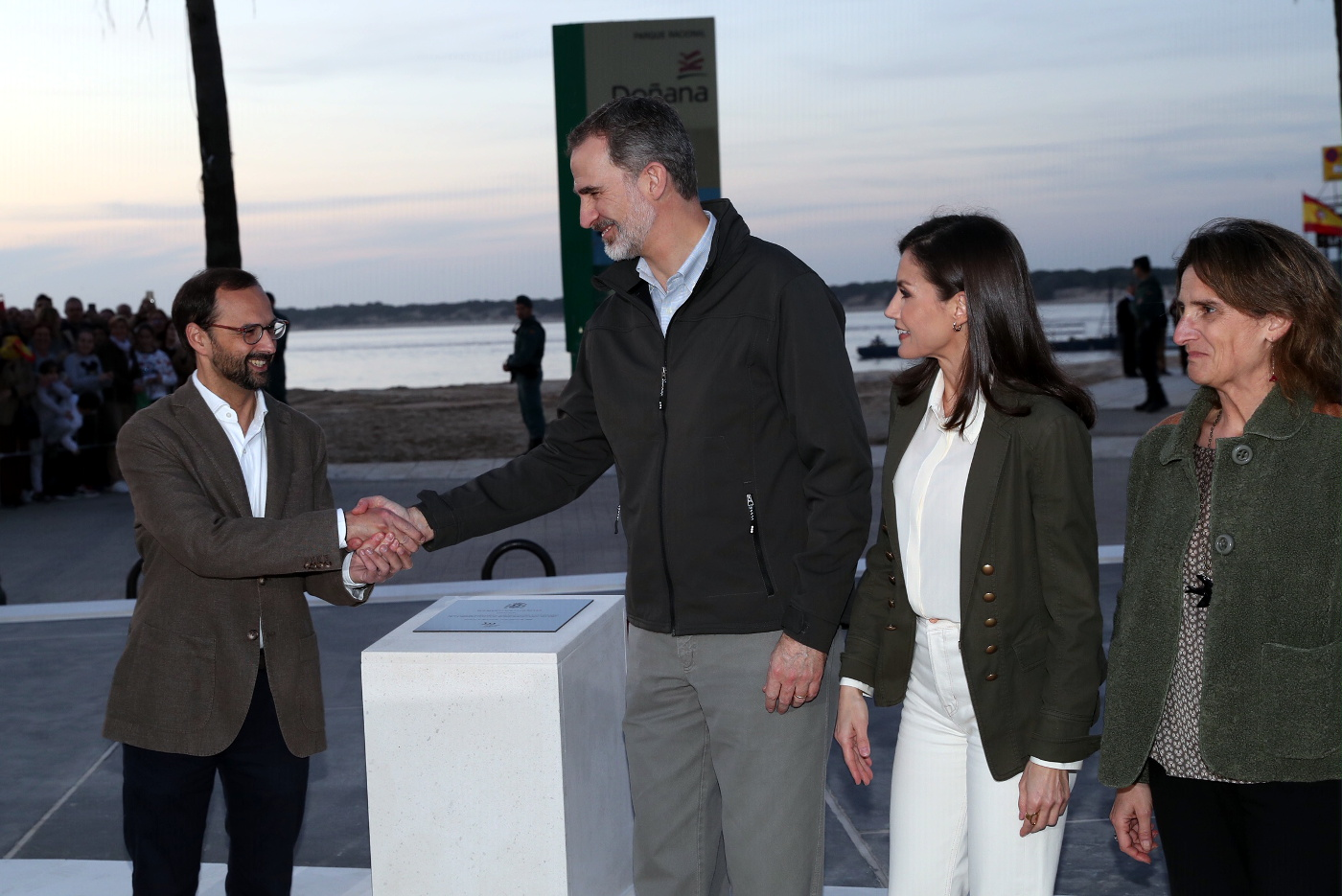 Felipe and Letizia spend valentine's day together