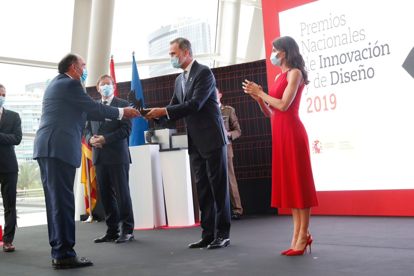 King Felipe and Queen Letizia of Spain presided over the delivery of the Innovation and Design Awards 2019