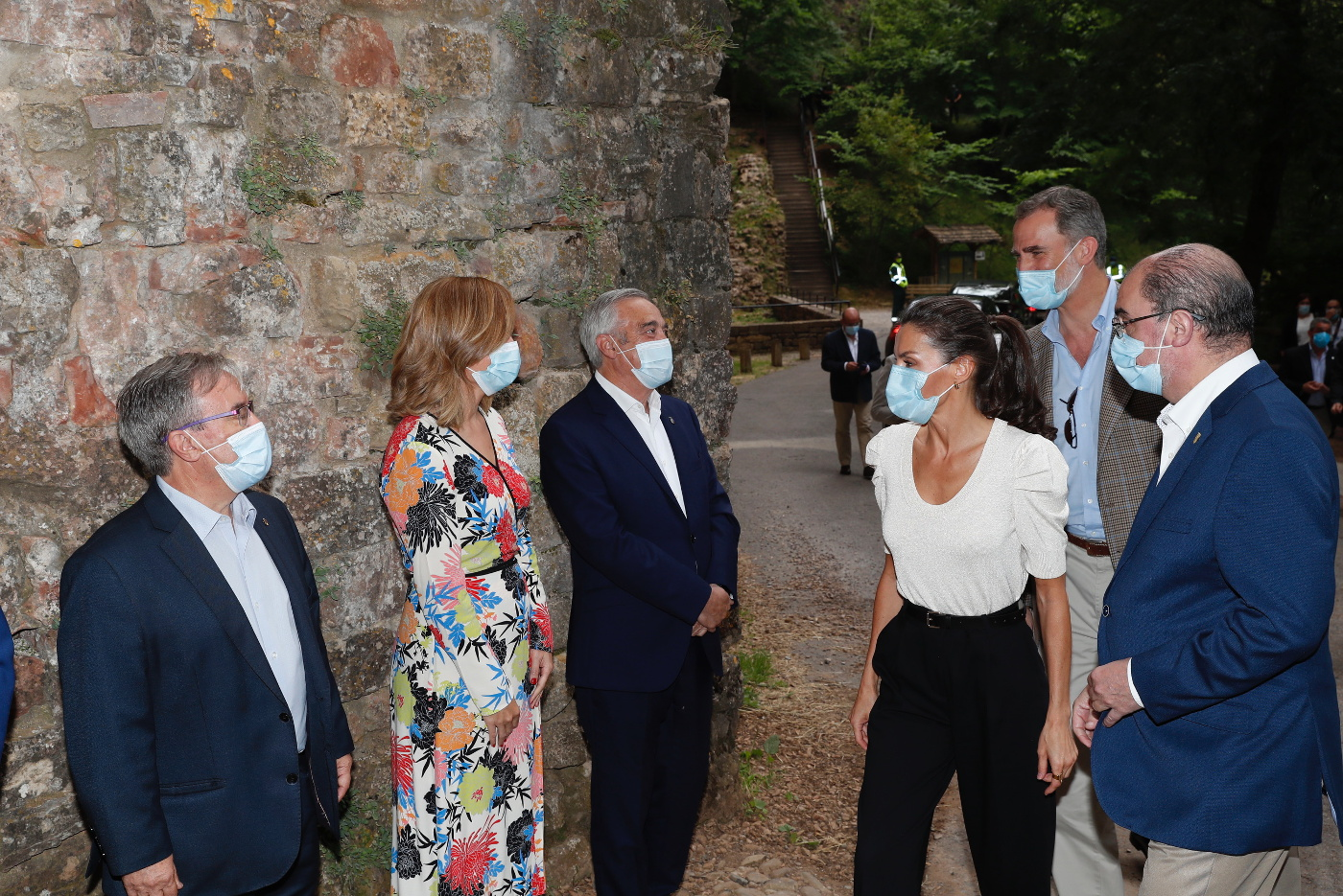 King Felipe and Queen Letizia of Spain visited Pony in Huesca