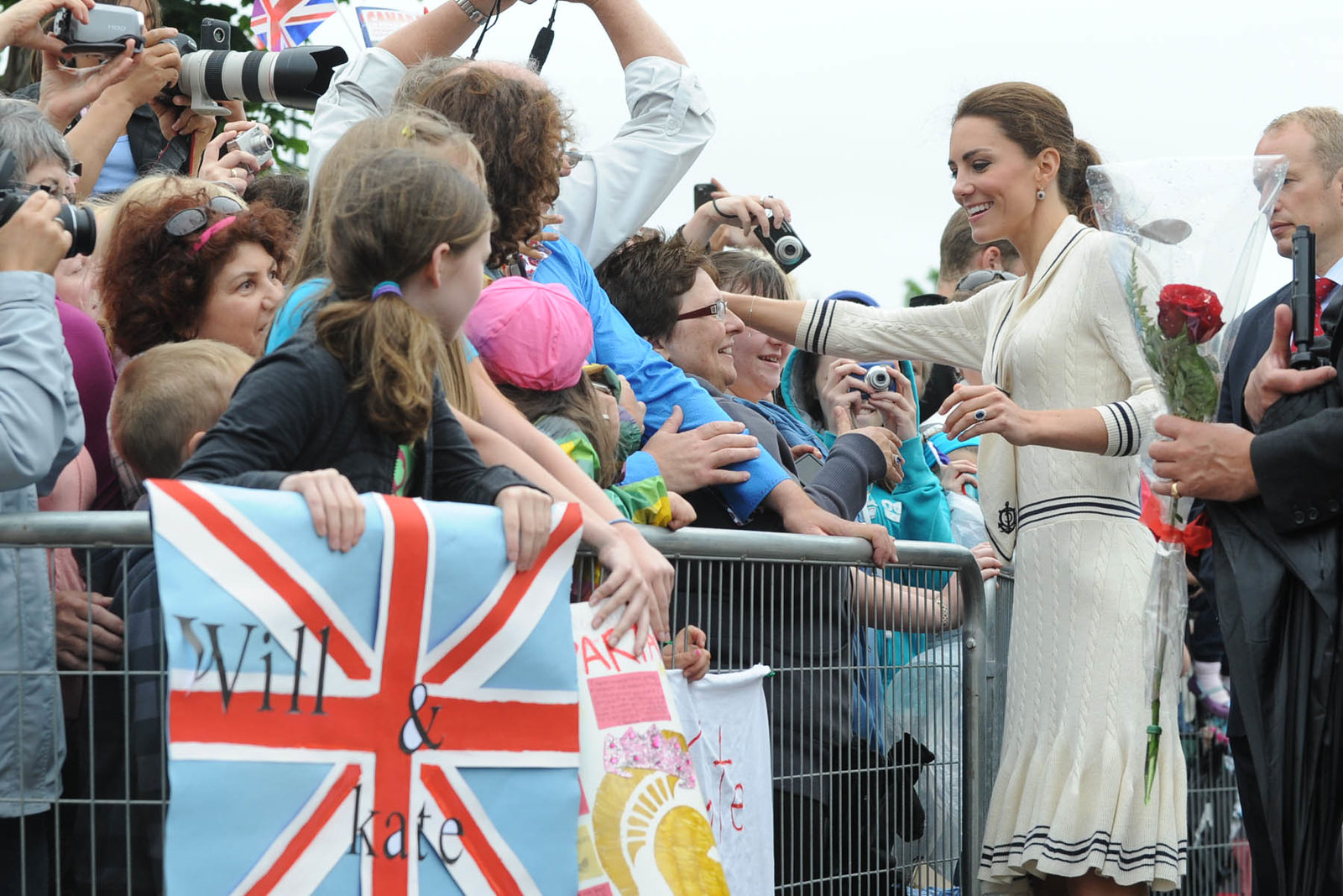 The Duchess of Cambridge met with public in Charlottetown