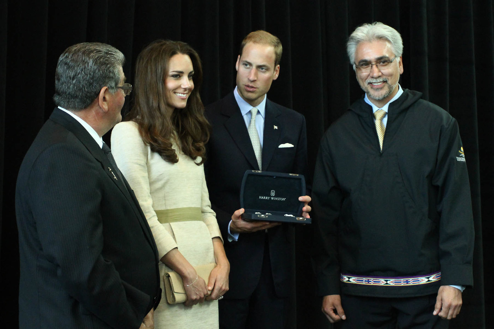 The Duchess of Cambridge received diamond brooch during canada tour in 2011