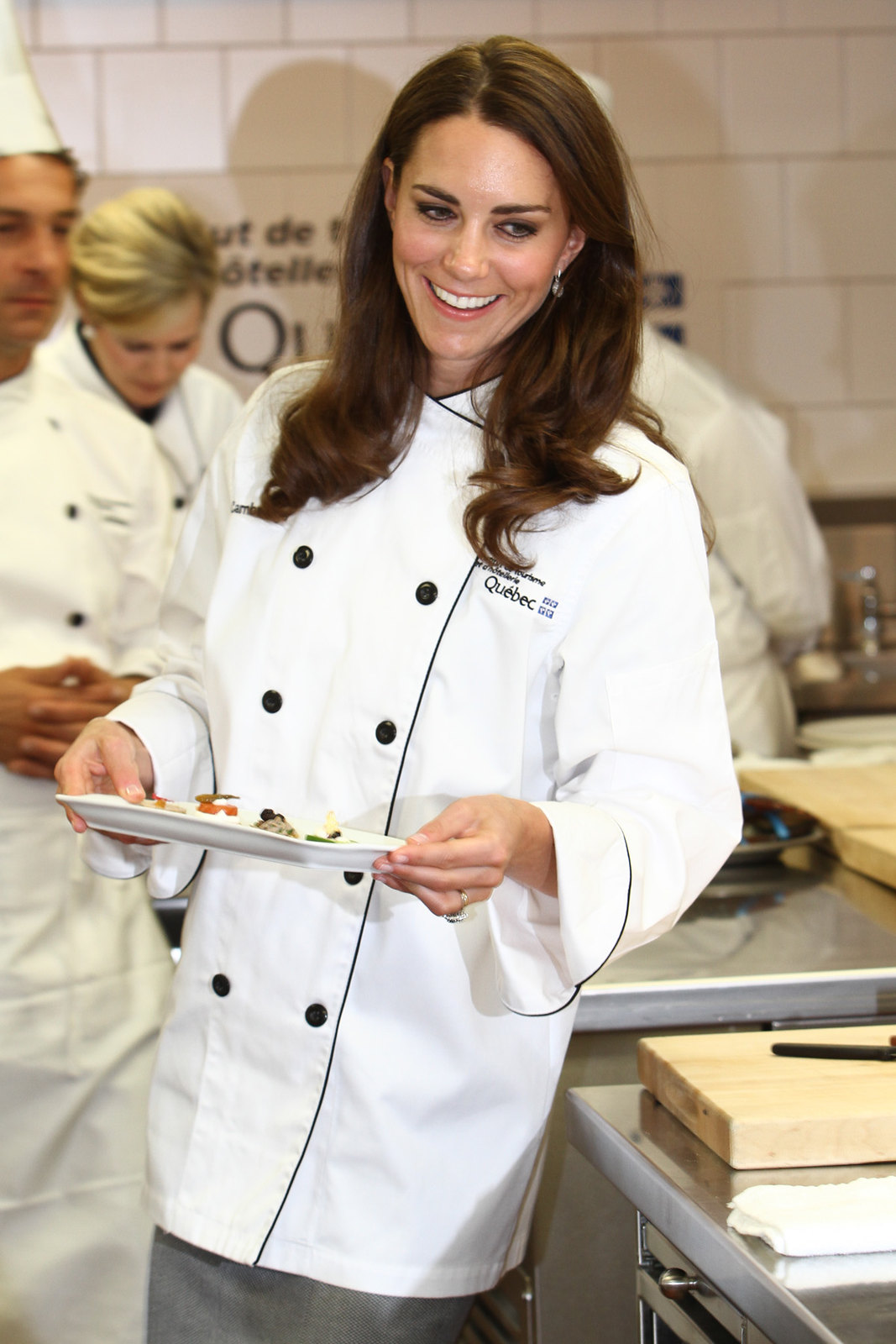 The Duchess of cambridge showed off her culinary during Montreal visit in 2011