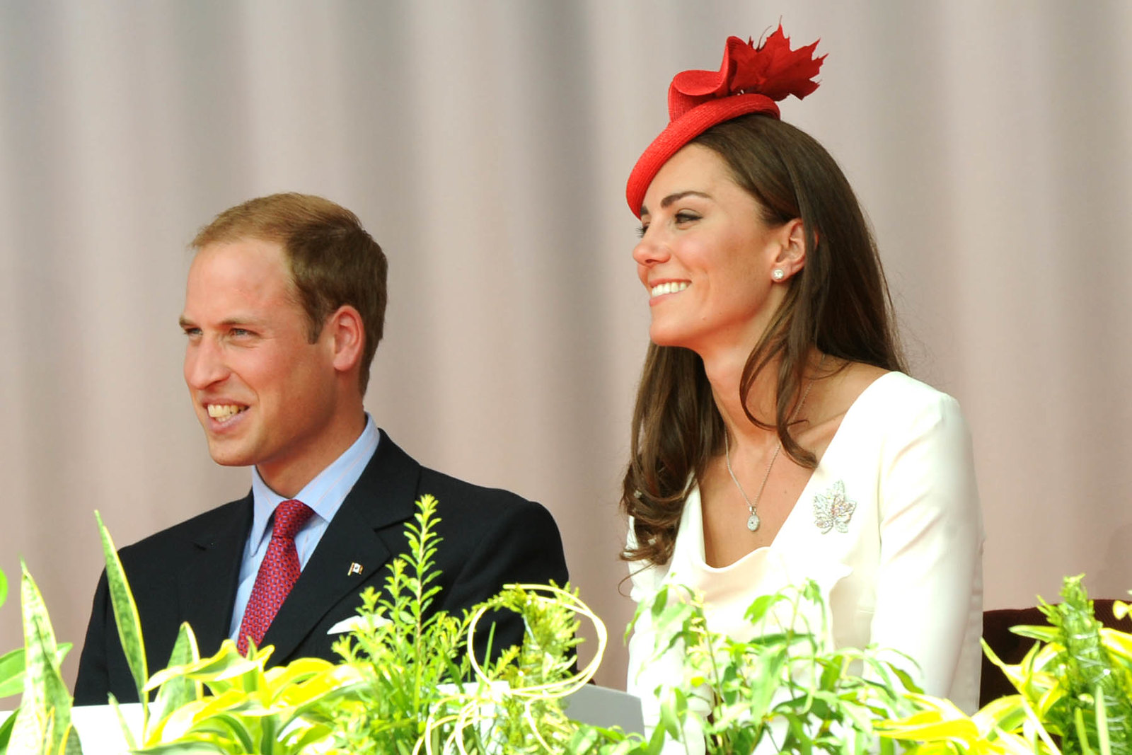The Duke and Duchess of Cambridge at Canada day