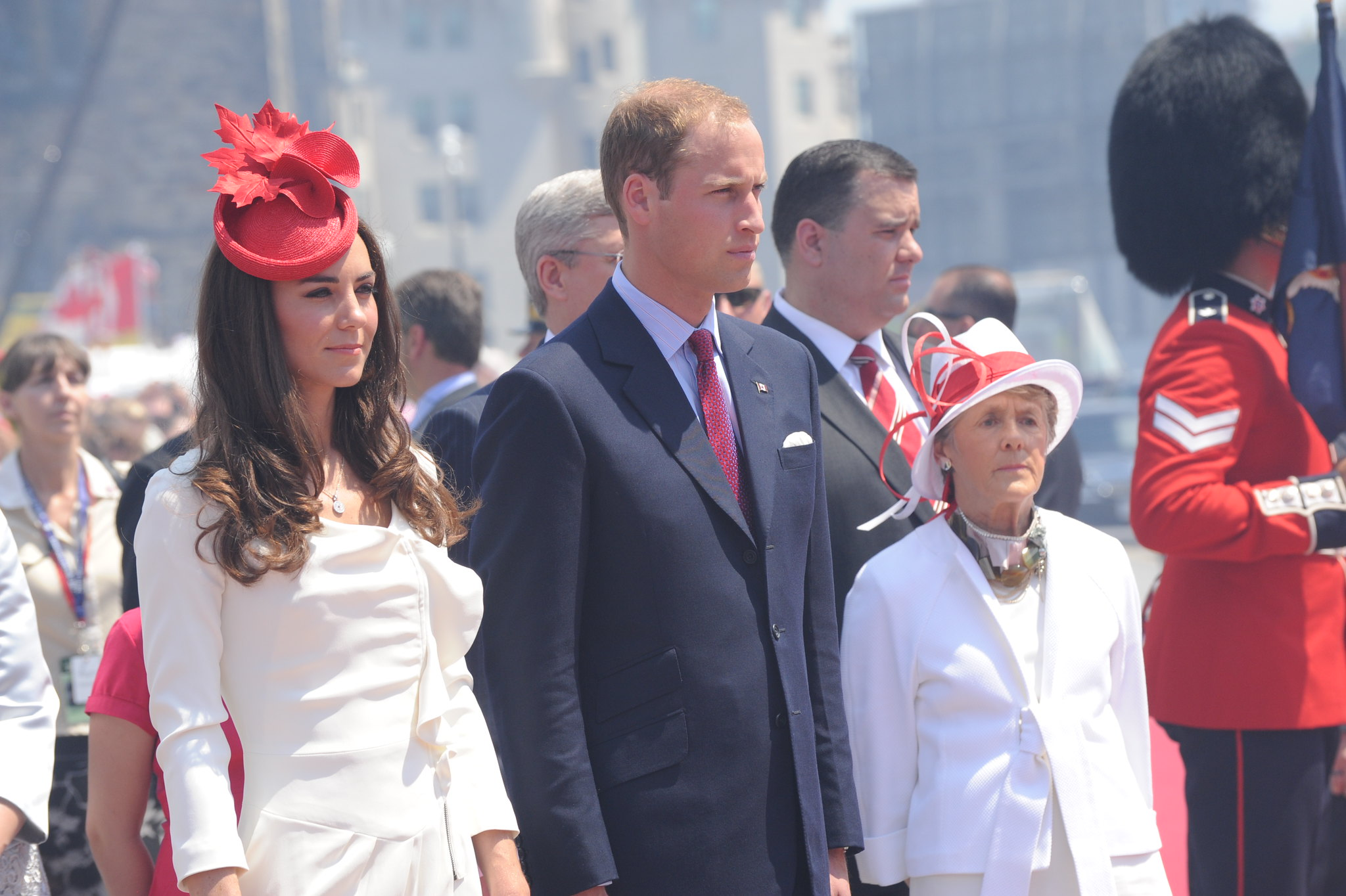 The Duke and Duchess of Cambridge attended Canada Day celebration in 2011