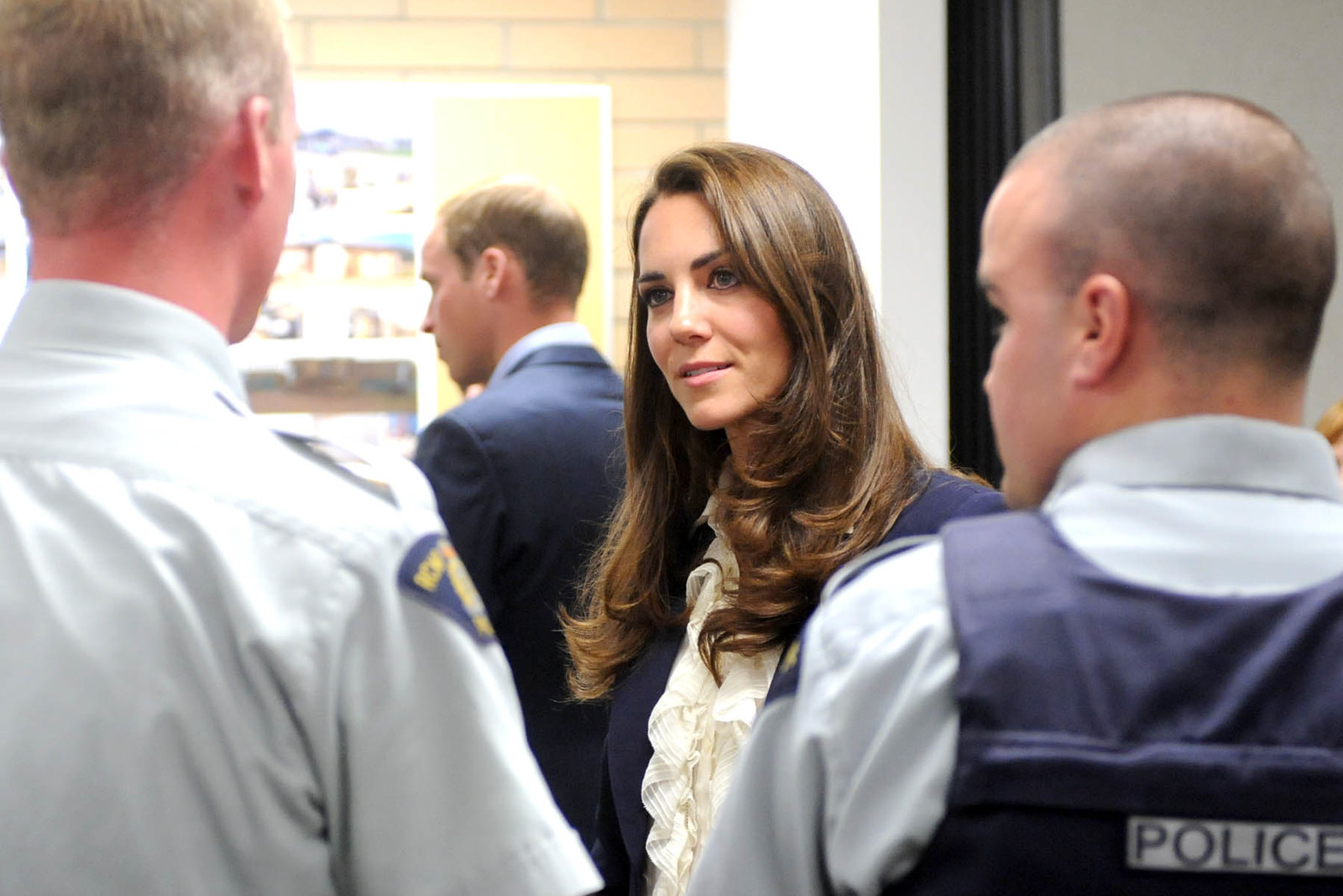 The Duke and Duchess of Cambridge met with fire survivors during Canada tour
