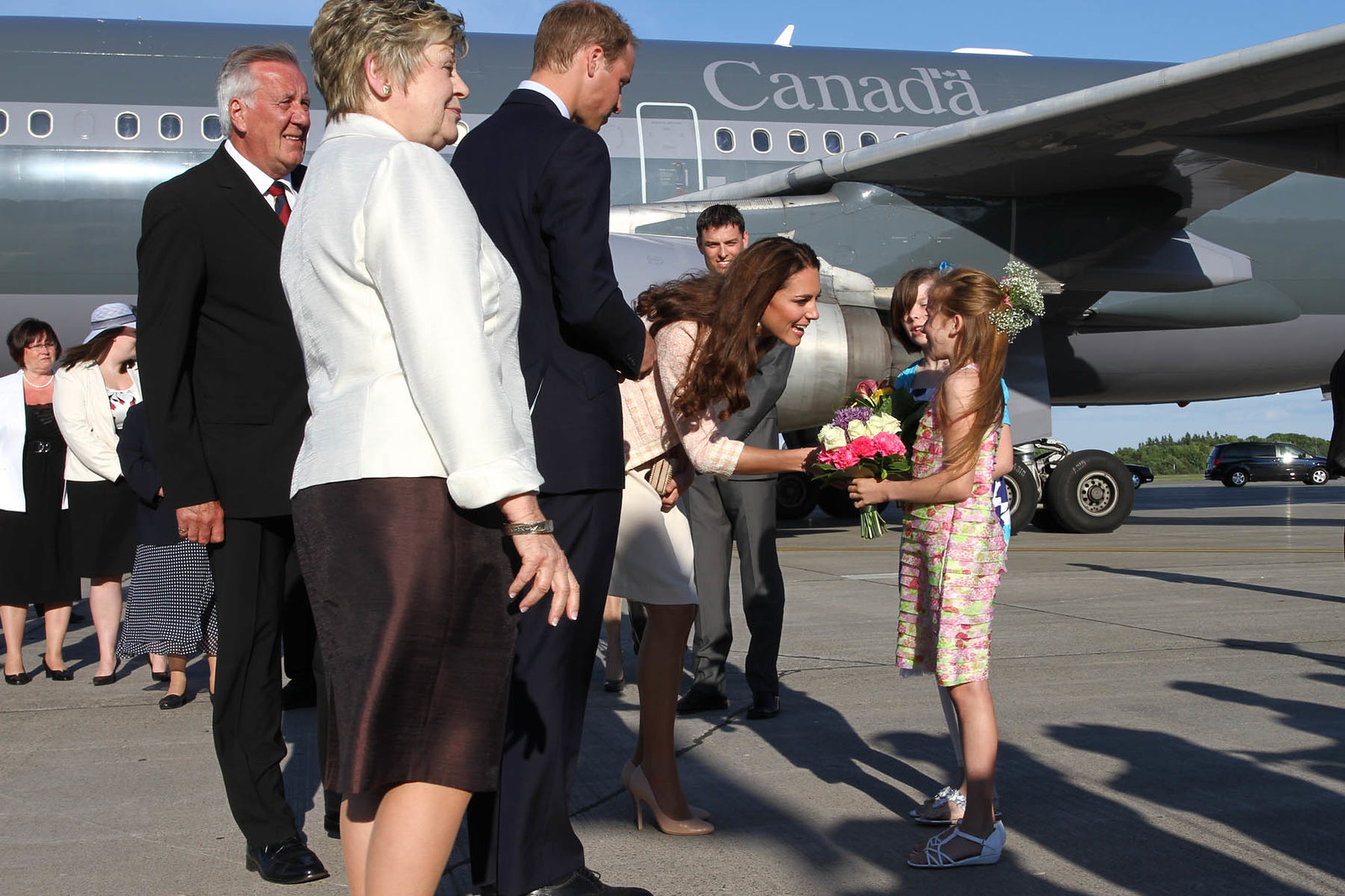 The Duke and Duchess of Cambridge touched down in Charlottetown during Canada tour