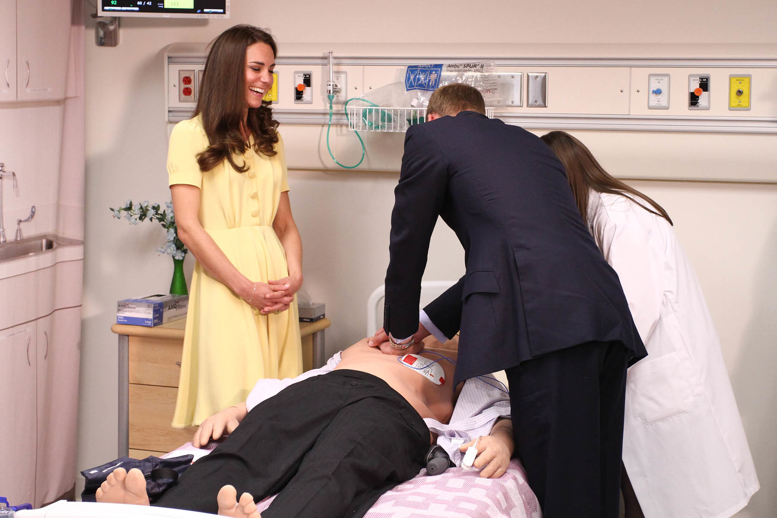 The Duke and Duchess of Cambridge visited University of Calgary in 2011