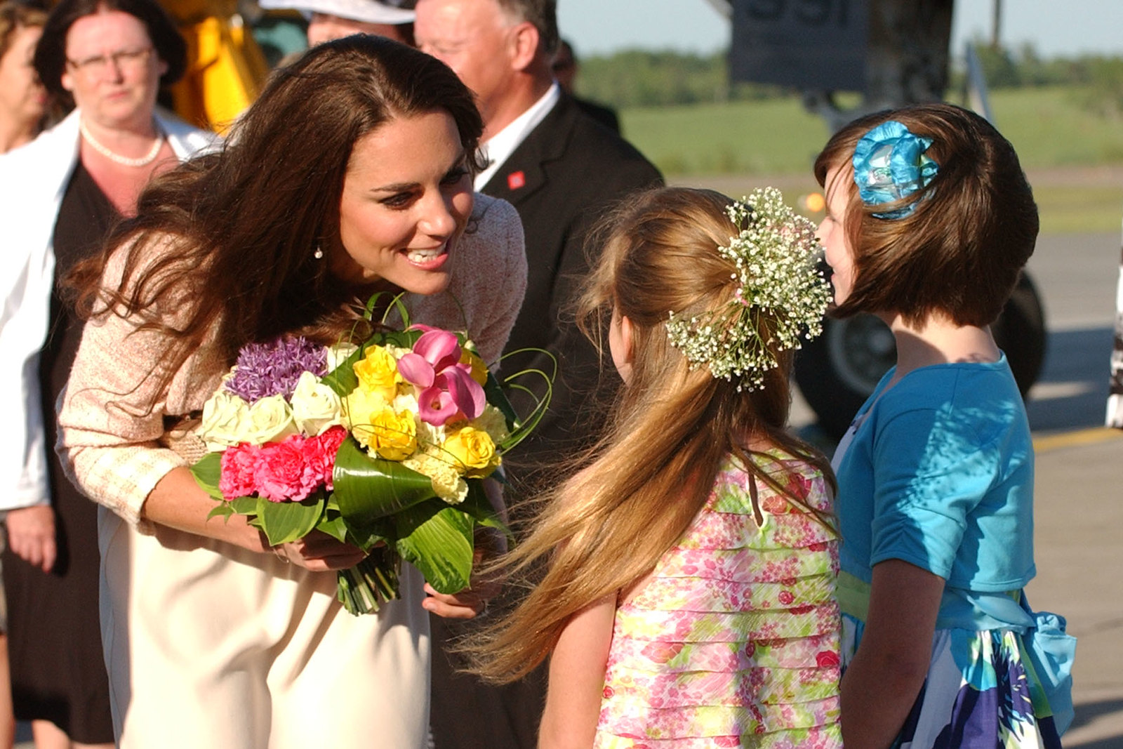 The Duke and Duchess of cambridge arrived in Charlottetown during royal tour of canada 2011