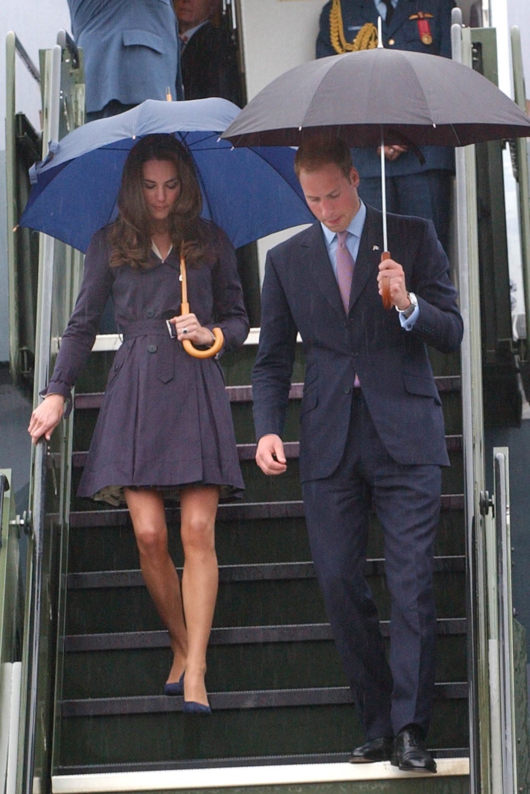 The Duke and Duchess of cambridge arrived in Northwest Terrotories in 2011