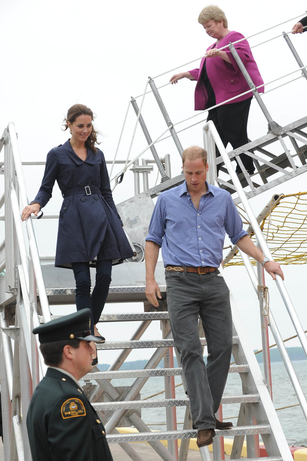 William and Catherine spent time in and around PEI sea side