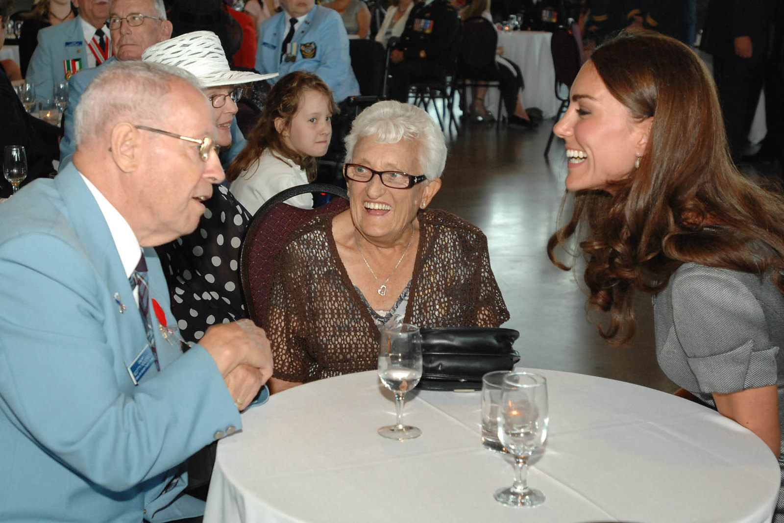 the Duchess of cambridge at war museum