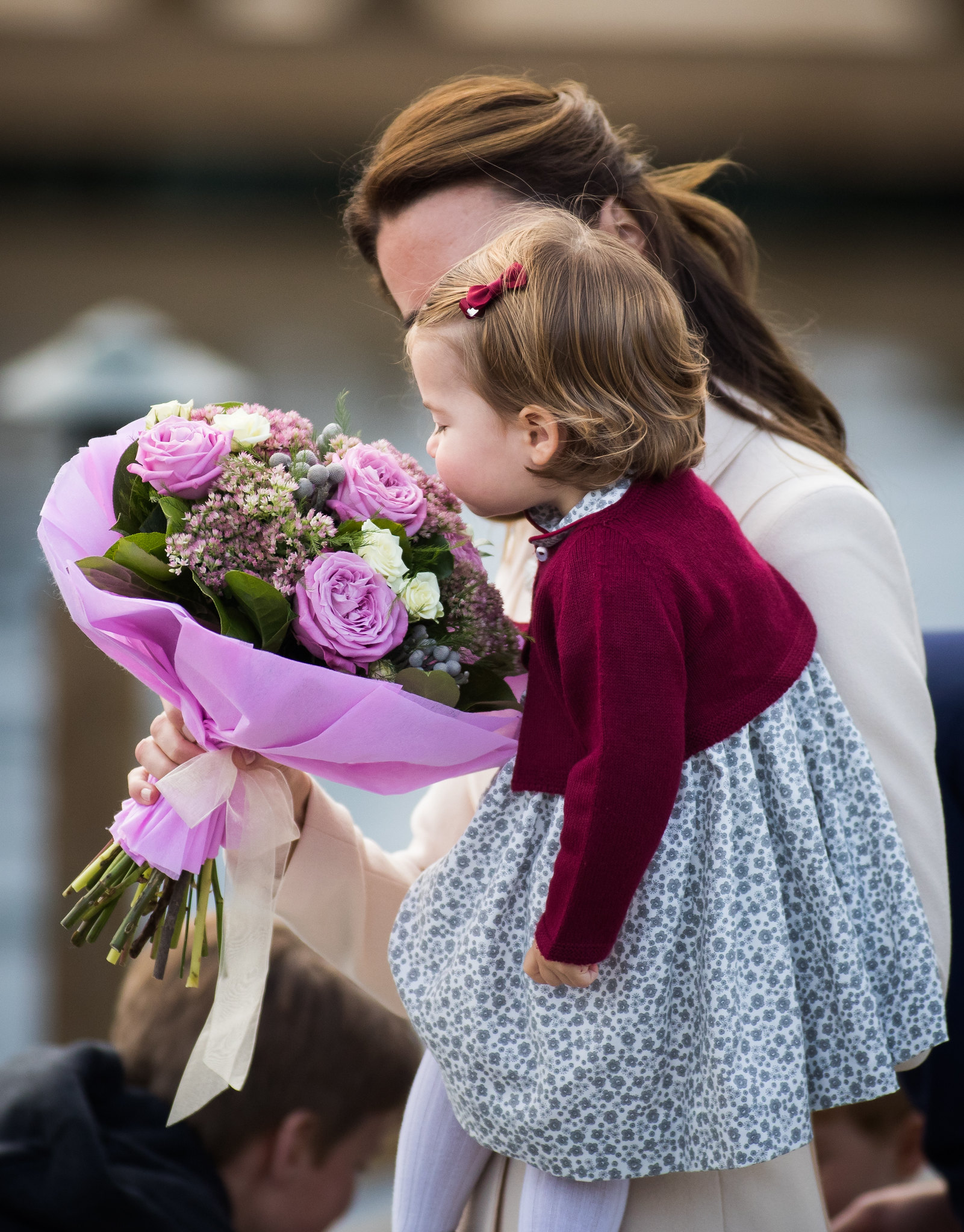 Princess Charlotte on the last day of Canada tour