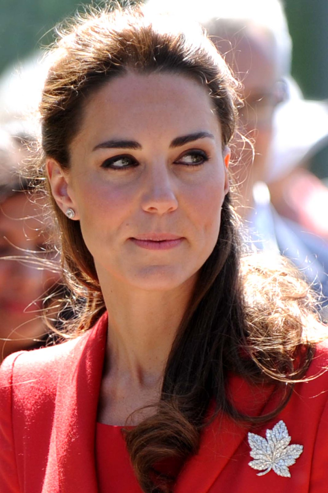 The Duchess of Cambridge in Canada in 2011