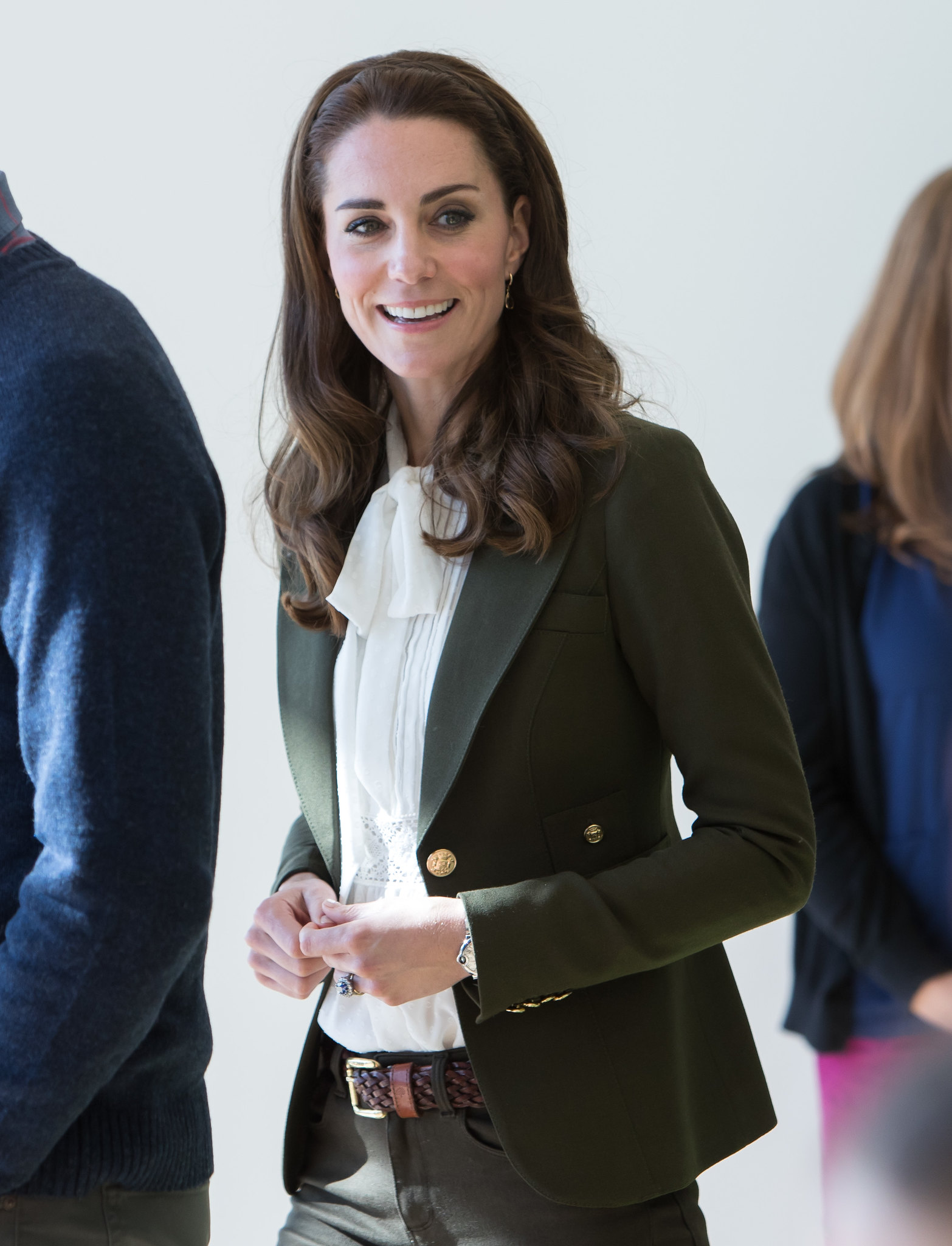 The Duchess of Cambridge looked smart and chic in Haida Gwaii in Canada