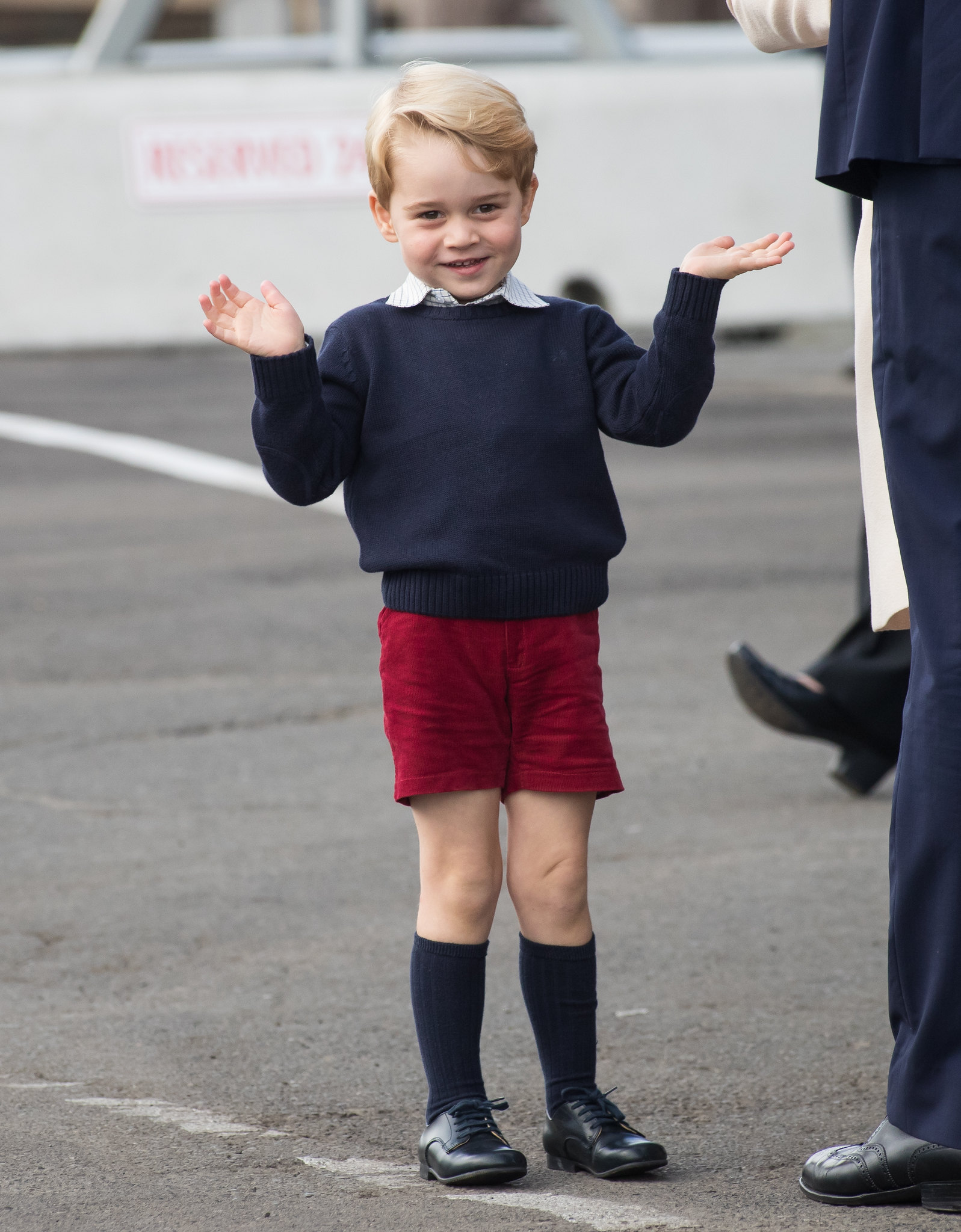 Wave from Prince George after Canada tour