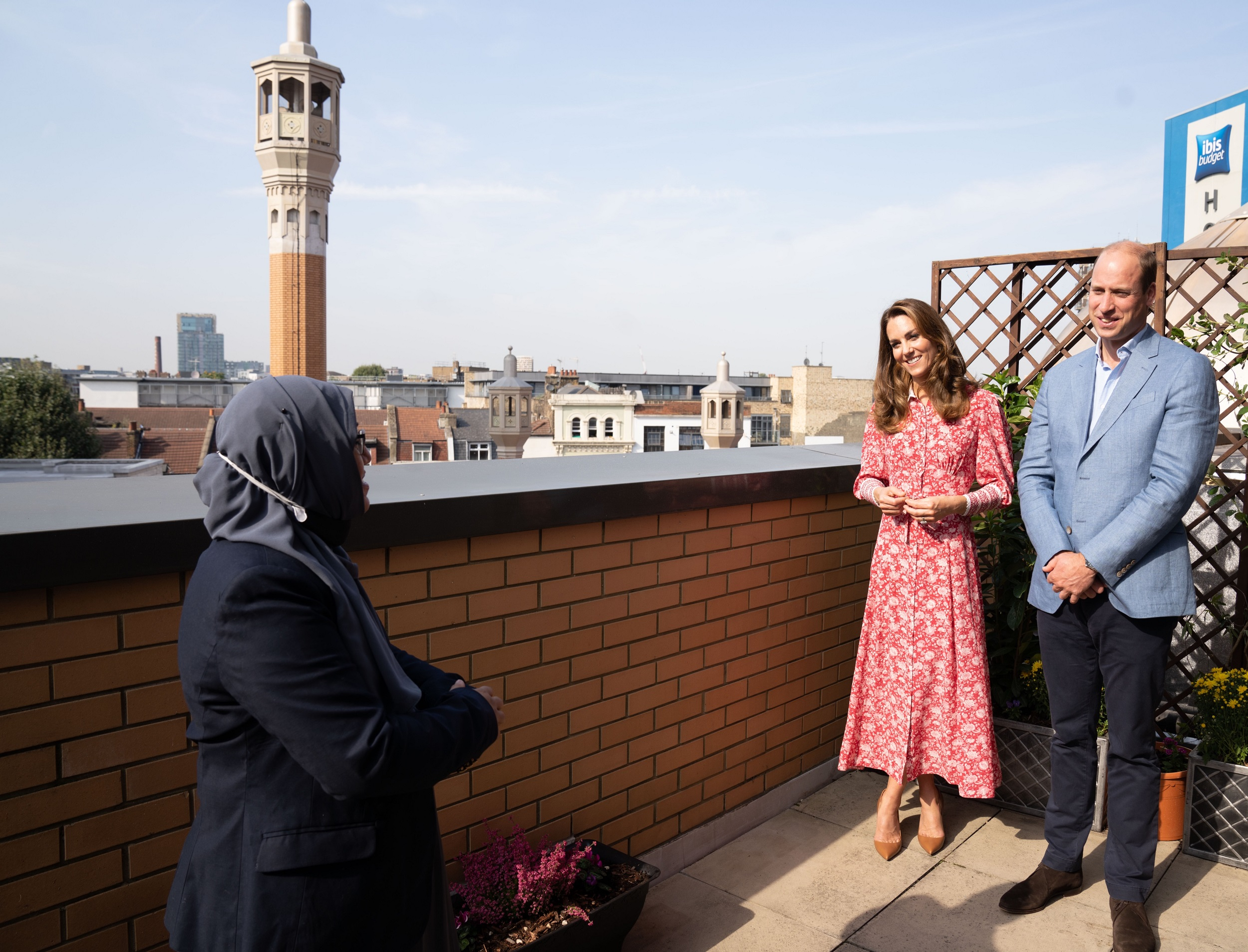 The Duke and Duchess of Cambridge toured the East London Mosque and London Muslim Centre