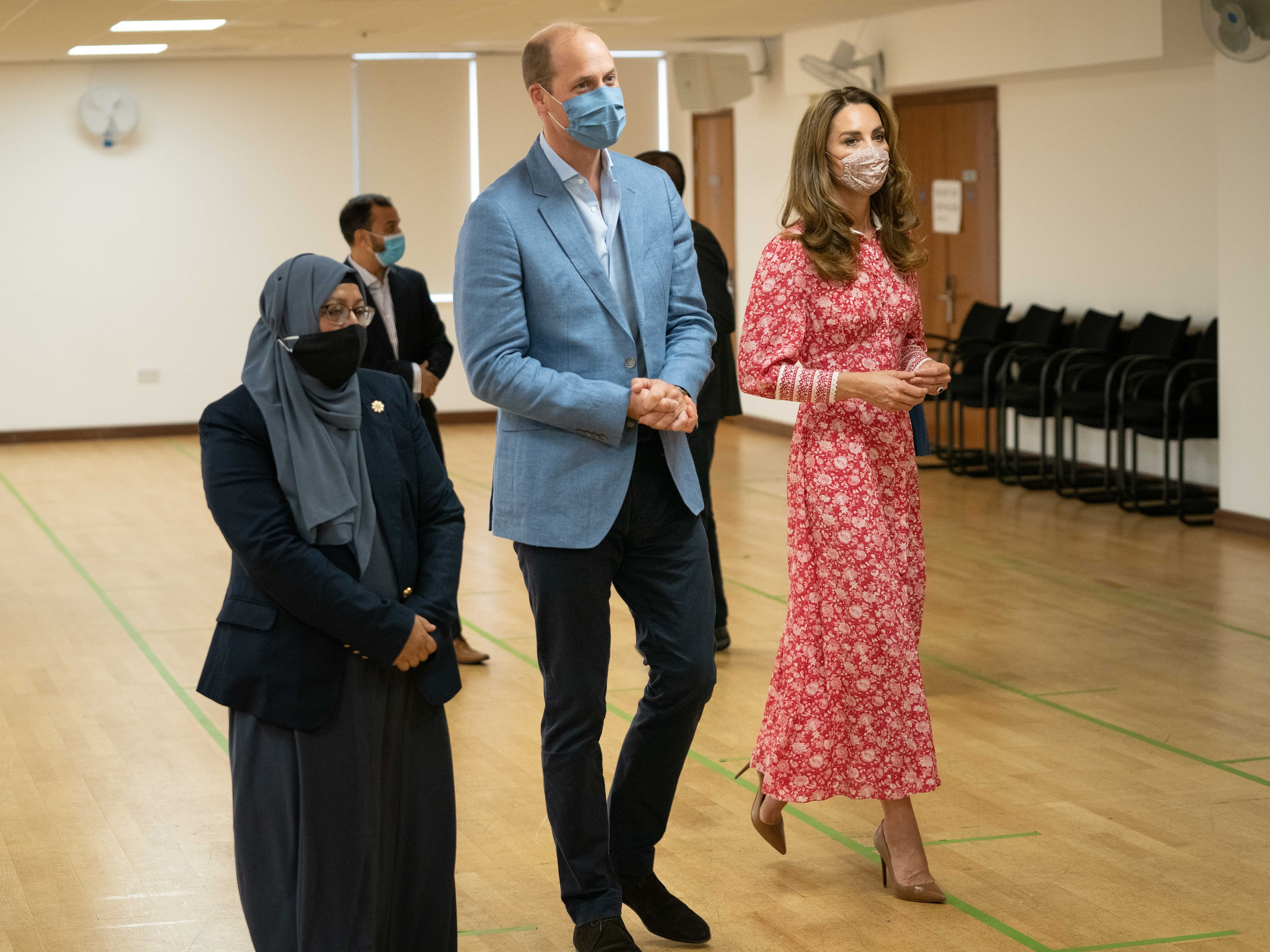 The Duke and Duchess of Cambridge thanked the Muslim community for their help during COVID-19