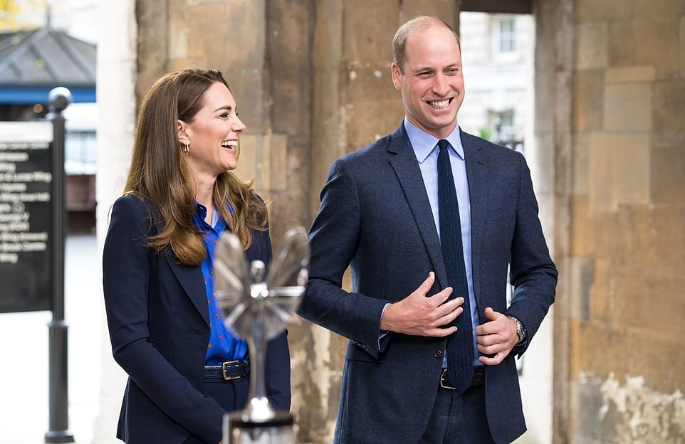 The Duke and Duchess of Cambridge presented Pride of Britain awards to NHS worker