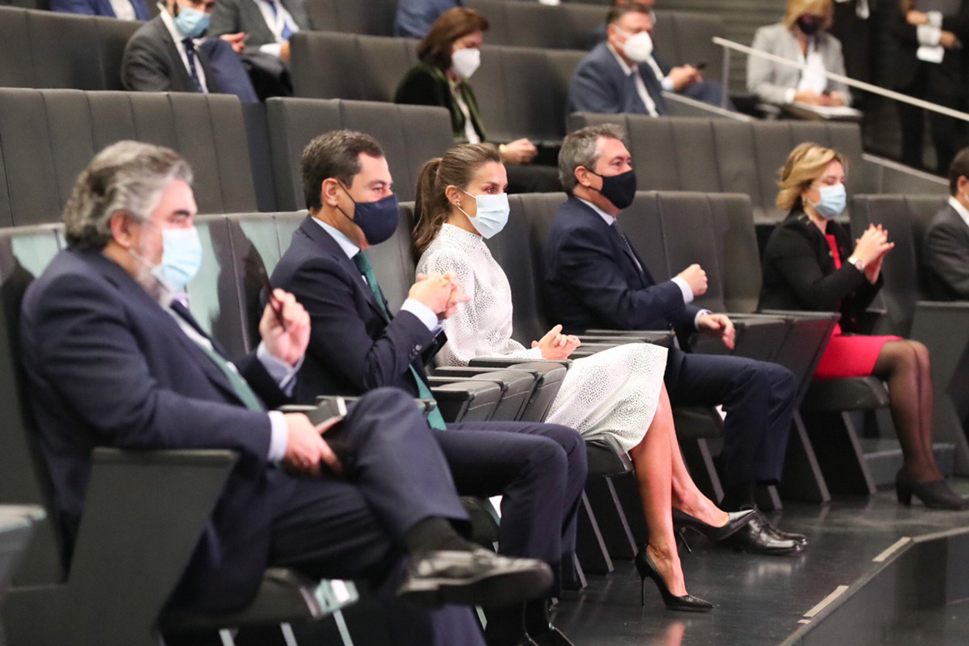 Queen Letizia attended Tourism Summit in Seville
