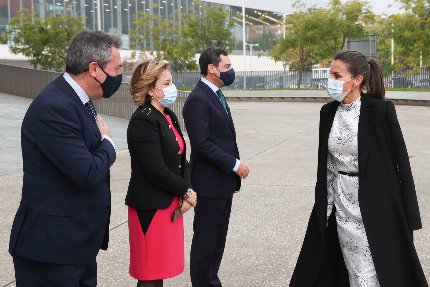 Queen Letizia of Spain attended Tourism Summit in Seville