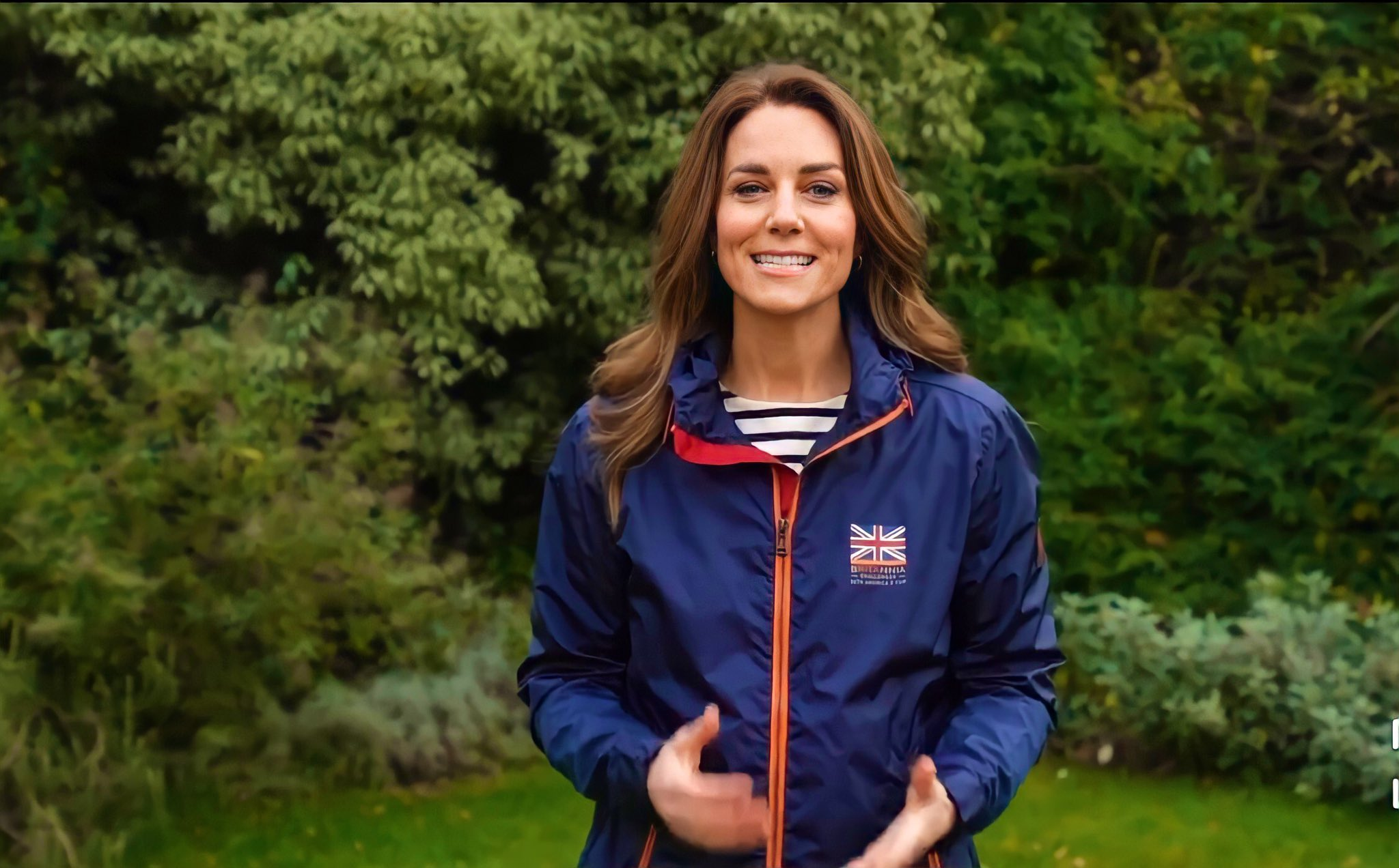 The Duchess of Cambridge sent the besst wishes to America's Cup team