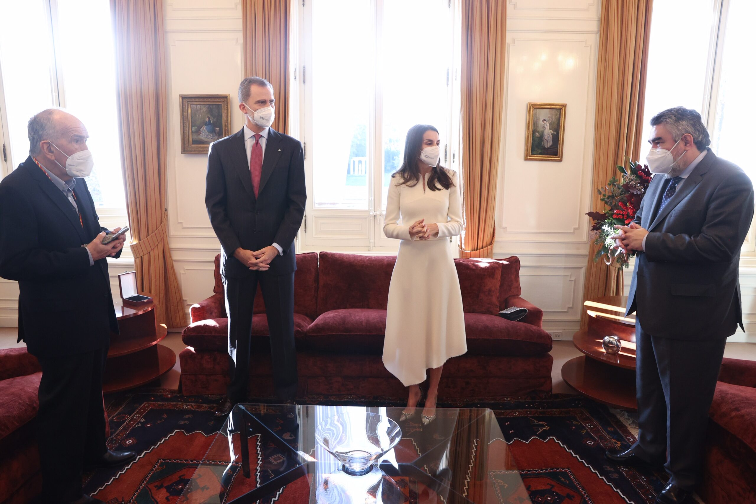 Queen Letizia undertook last engagement of the year 2020 before Christmas and New year holiday